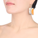Horn & Lacquer Earrings #13893 - HORN.JEWELRY
