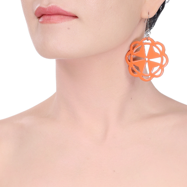 Horn & Lacquer Earrings #14216 - HORN.JEWELRY