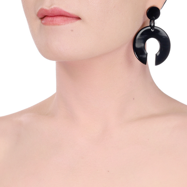 Horn Earrings #14221 - HORN.JEWELRY by QueCraft