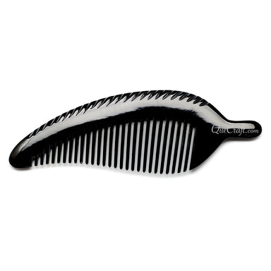 Horn Hair Comb #10673 - HORN.JEWELRY