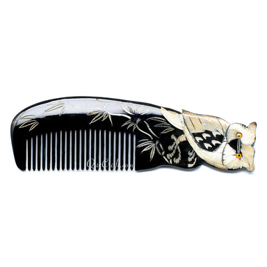 Horn Hair Comb #10700 - HORN.JEWELRY