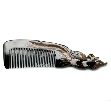 Horn Hair Comb #10800 - HORN.JEWELRY