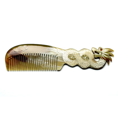 Horn Hair Comb #10864 - HORN.JEWELRY