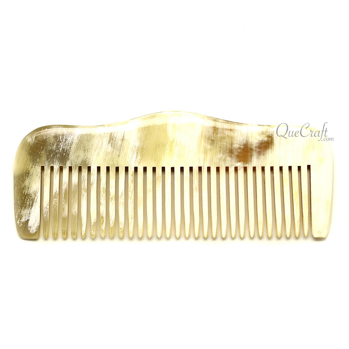 Horn Hair Comb #12266 - HORN.JEWELRY by QueCraft