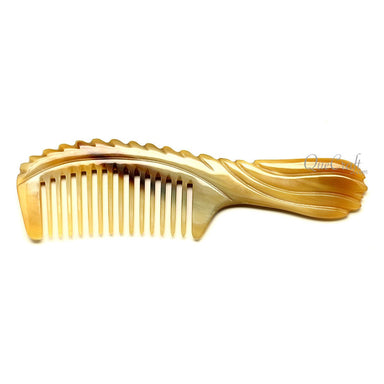 Horn Hair Comb #12267 - HORN.JEWELRY