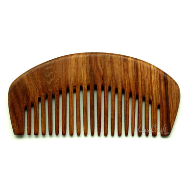Rosewood Hair Comb #10806 - HORN.JEWELRY