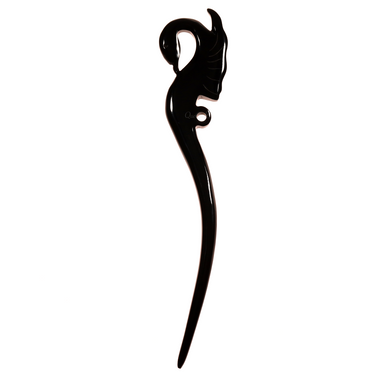 Horn Hair Pin #14187 - HORN.JEWELRY by QueCraft