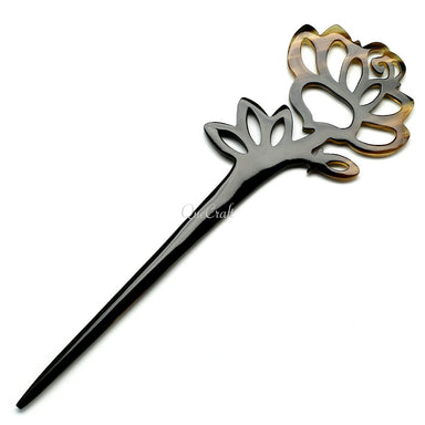 Horn Hair Stick #10630 - HORN.JEWELRY