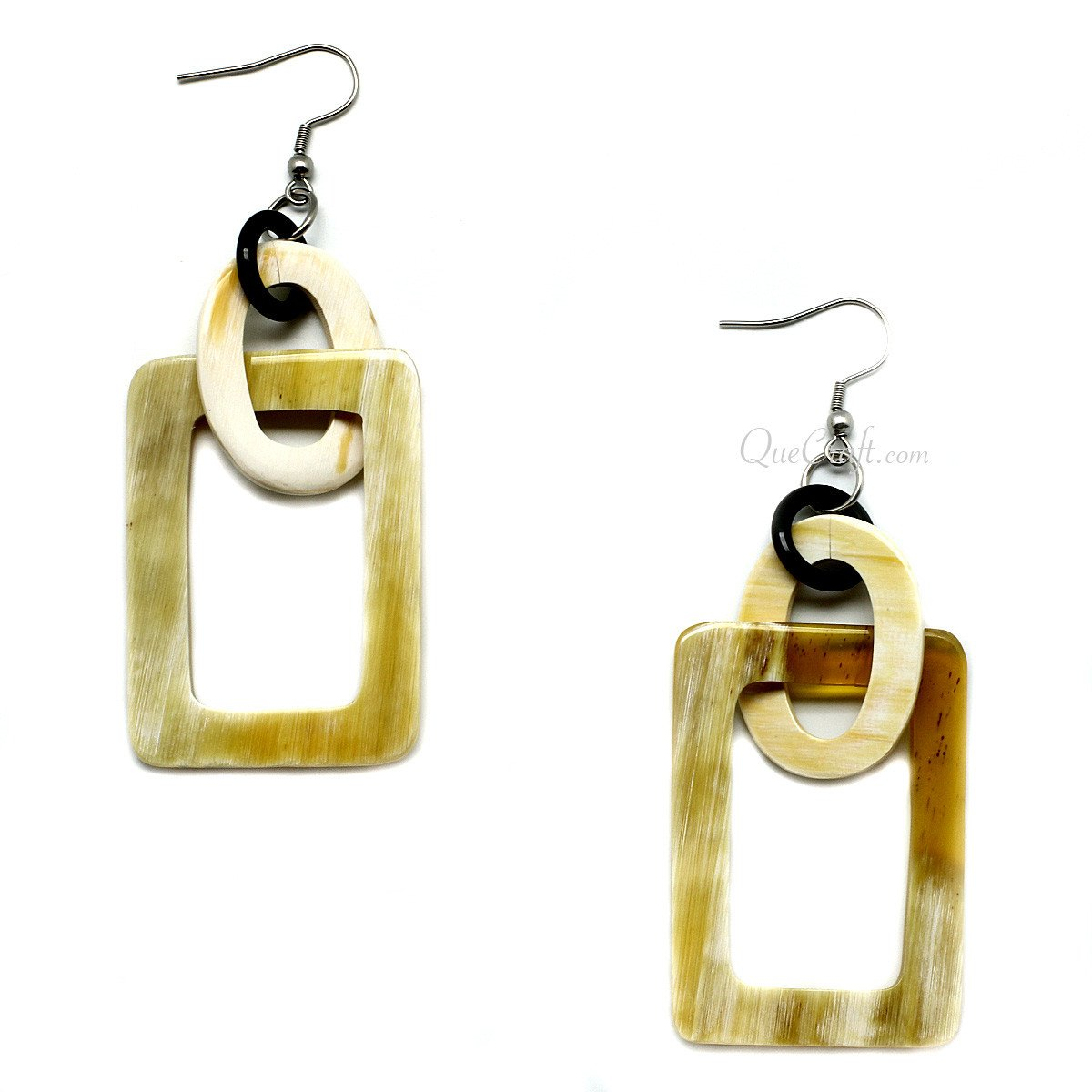 Horn Earrings #9991 - HORN.JEWELRY by QueCraft