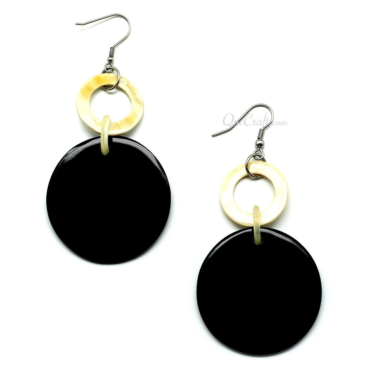 Horn Earrings #10039 - HORN.JEWELRY