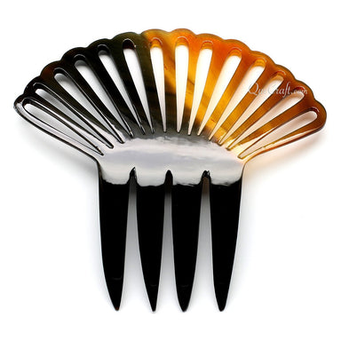 Horn Hair Comb #10795 - HORN.JEWELRY