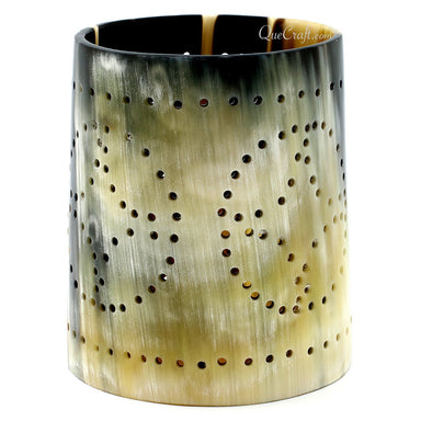 Horn Candle Holder #11285 - HORN.JEWELRY