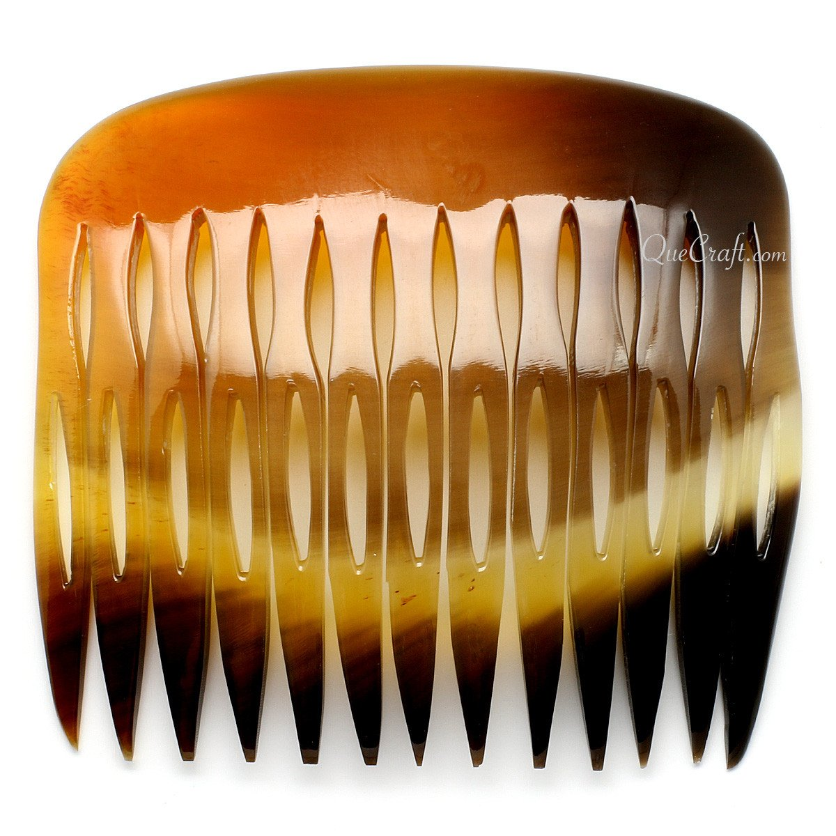 Horn Hair Comb #10664 - HORN.JEWELRY
