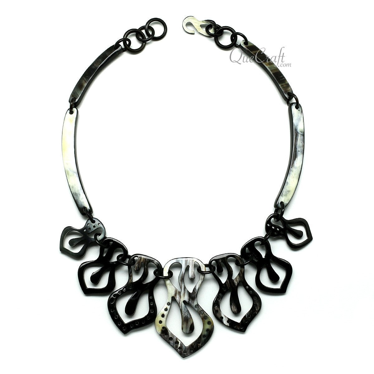 Horn Chain Necklace #11733 - HORN.JEWELRY