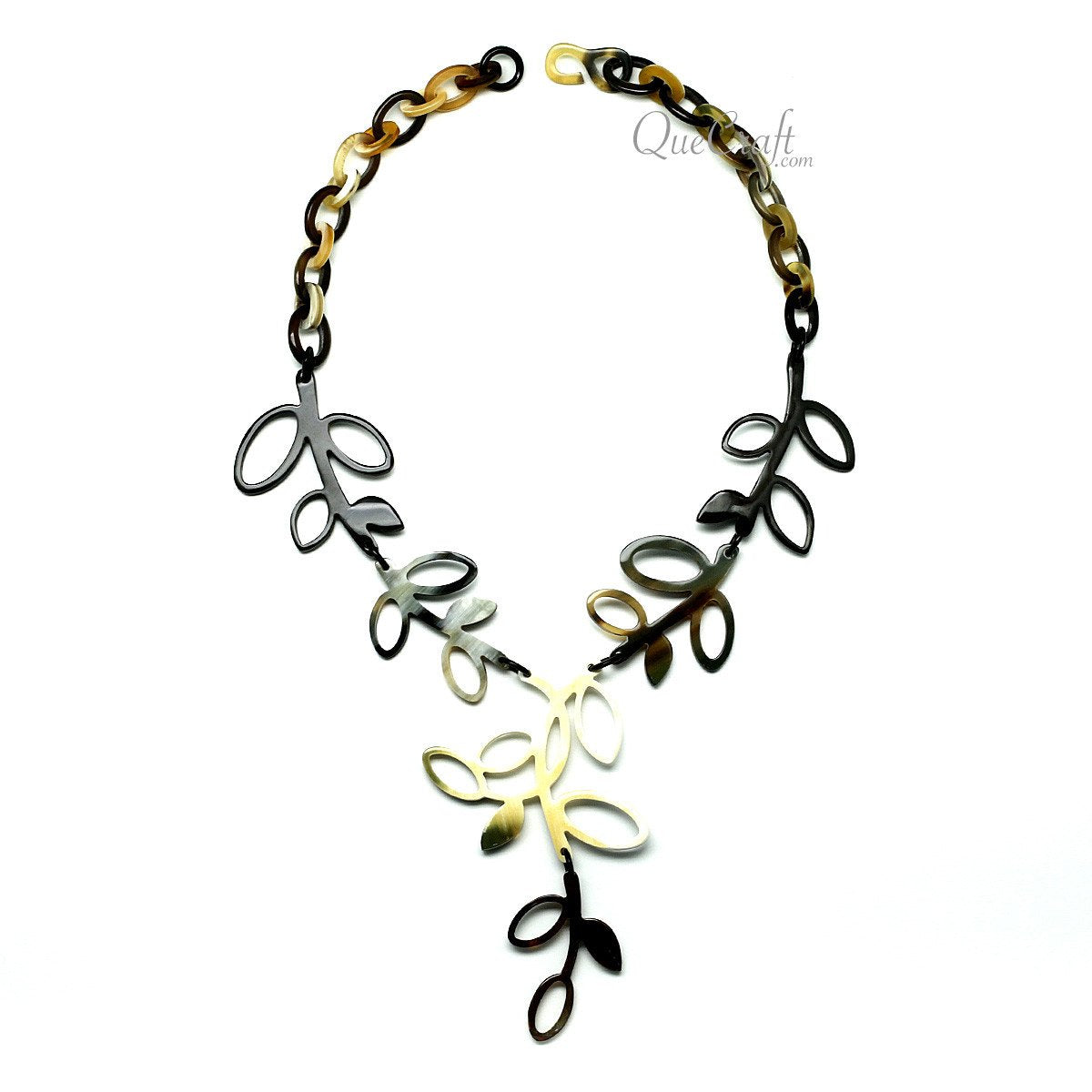 Horn Chain Necklace #11738 - HORN.JEWELRY