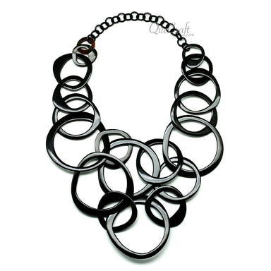 Horn Chain Necklace #11807 - HORN.JEWELRY