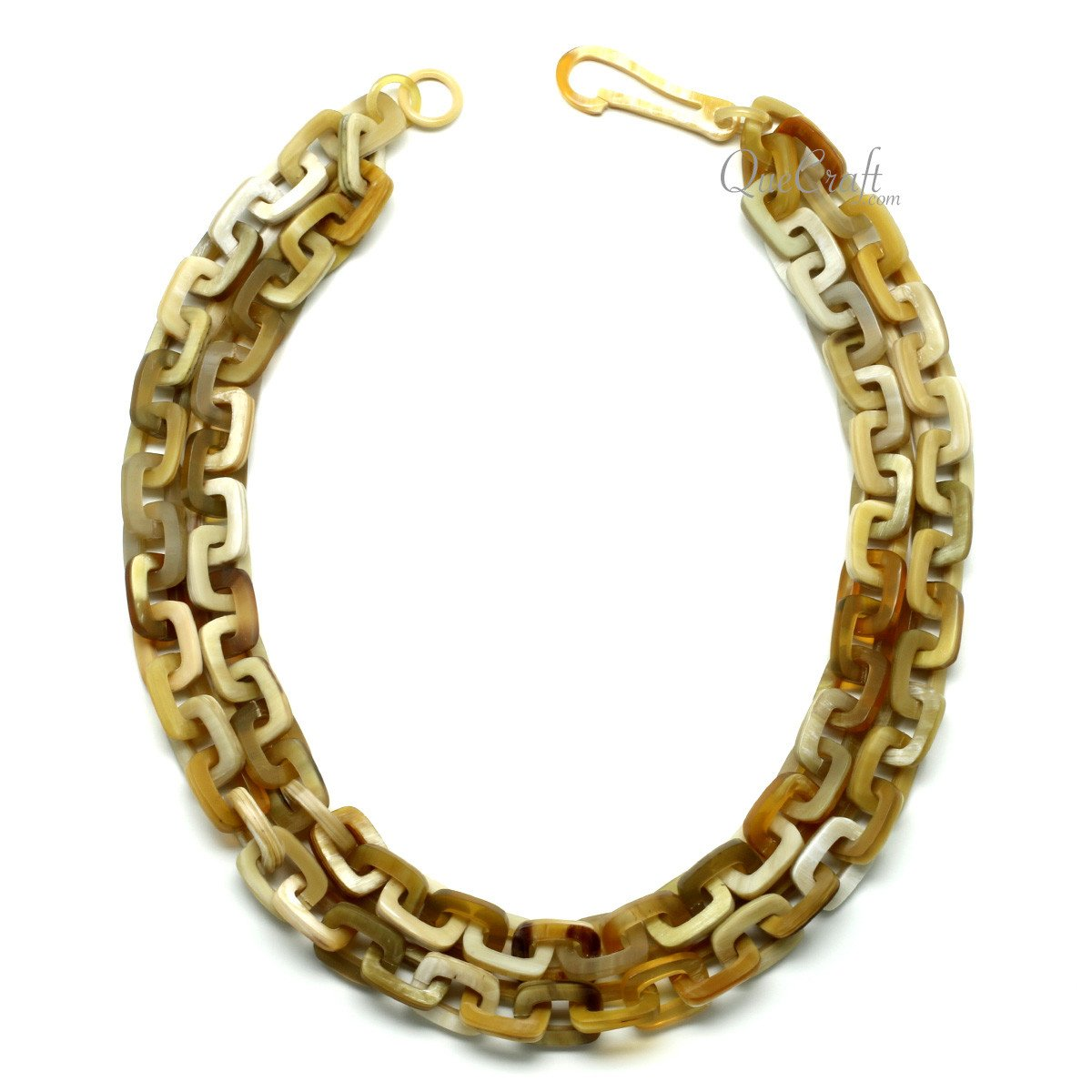 Horn Chain Necklace #11824 - HORN.JEWELRY