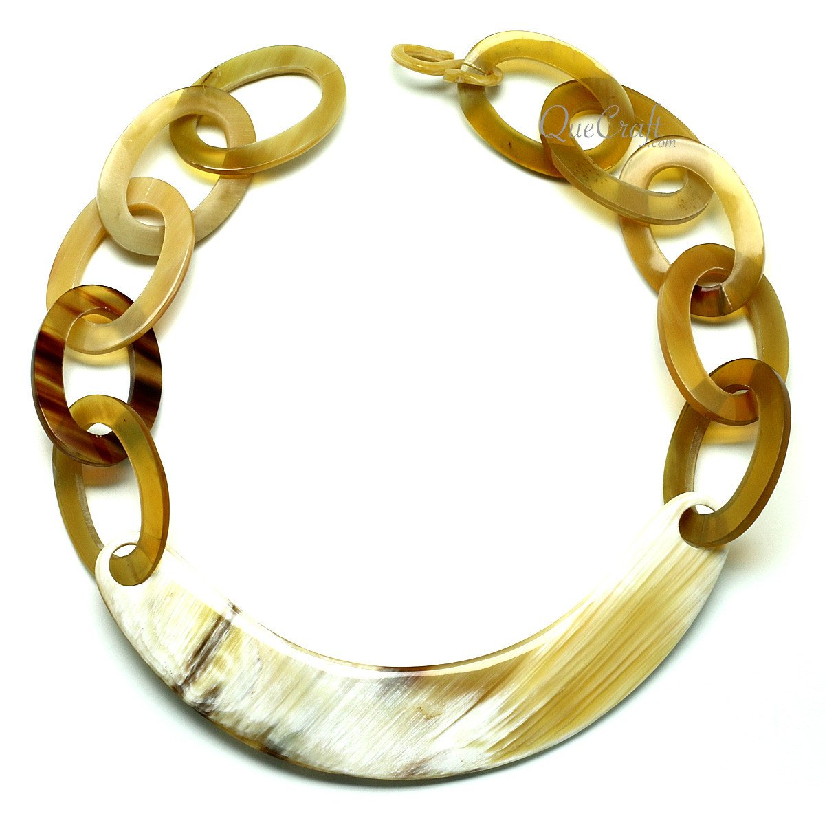 Horn Chain Necklace #11952 - HORN.JEWELRY