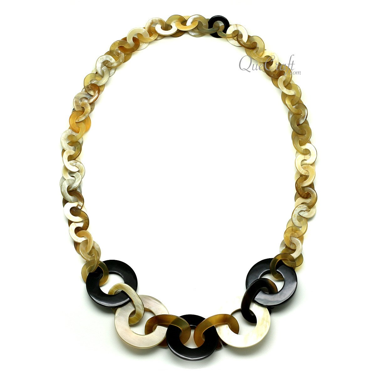 Horn Chain Necklace #12165 - HORN.JEWELRY