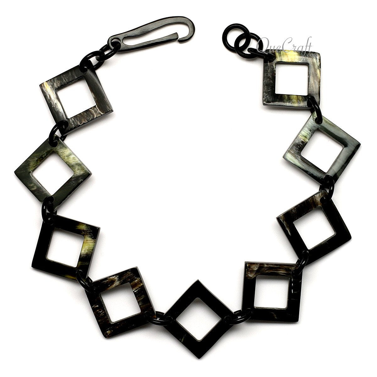 Horn Chain Choker Necklace #12449 - HORN.JEWELRY