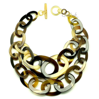 Horn Chain Necklace - Q13001