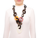 Horn & Lacquer Chain Necklace #13653 - HORN.JEWELRY