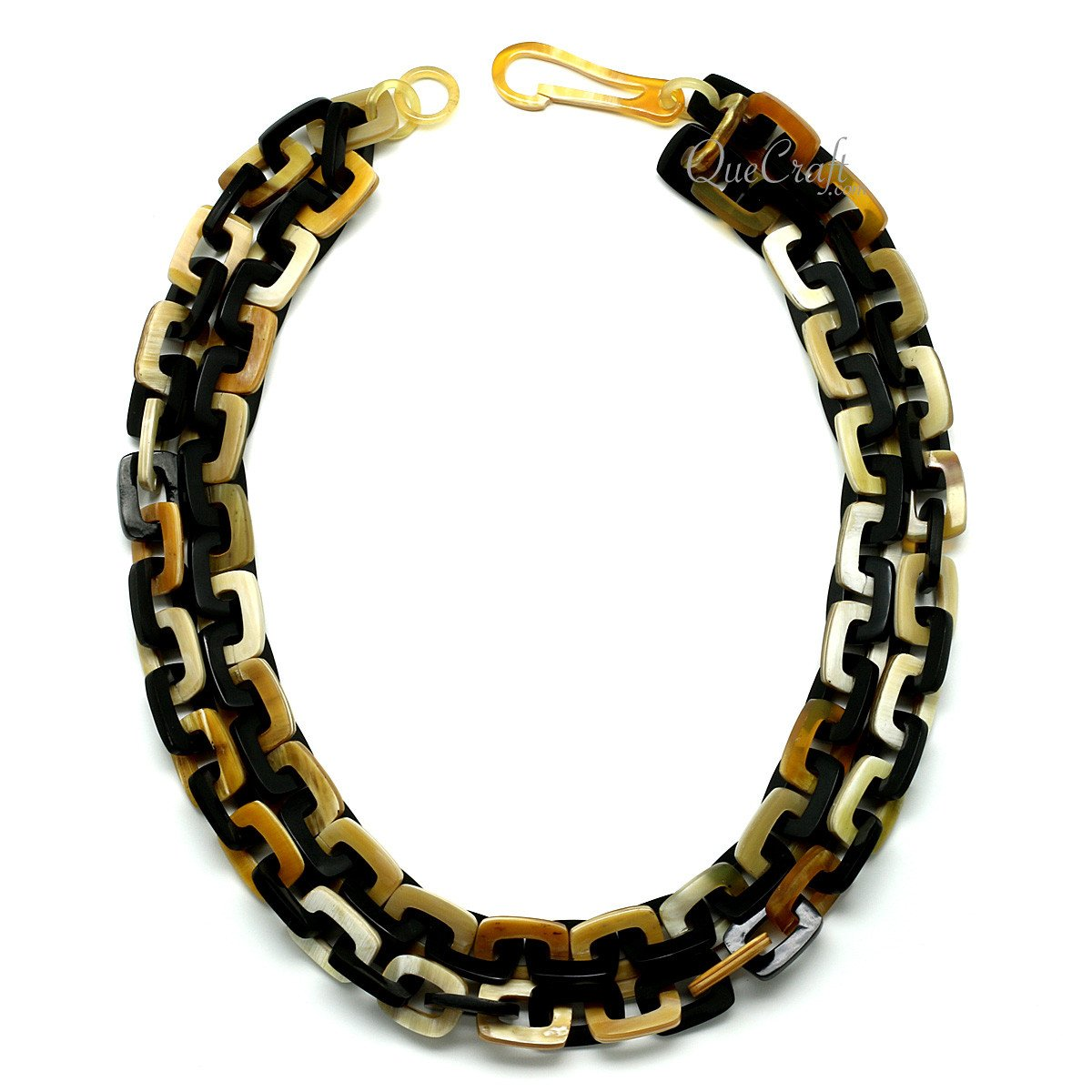 Horn Chain Necklace #11757 - HORN.JEWELRY