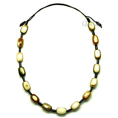 Horn String Necklace #12981 - HORN.JEWELRY