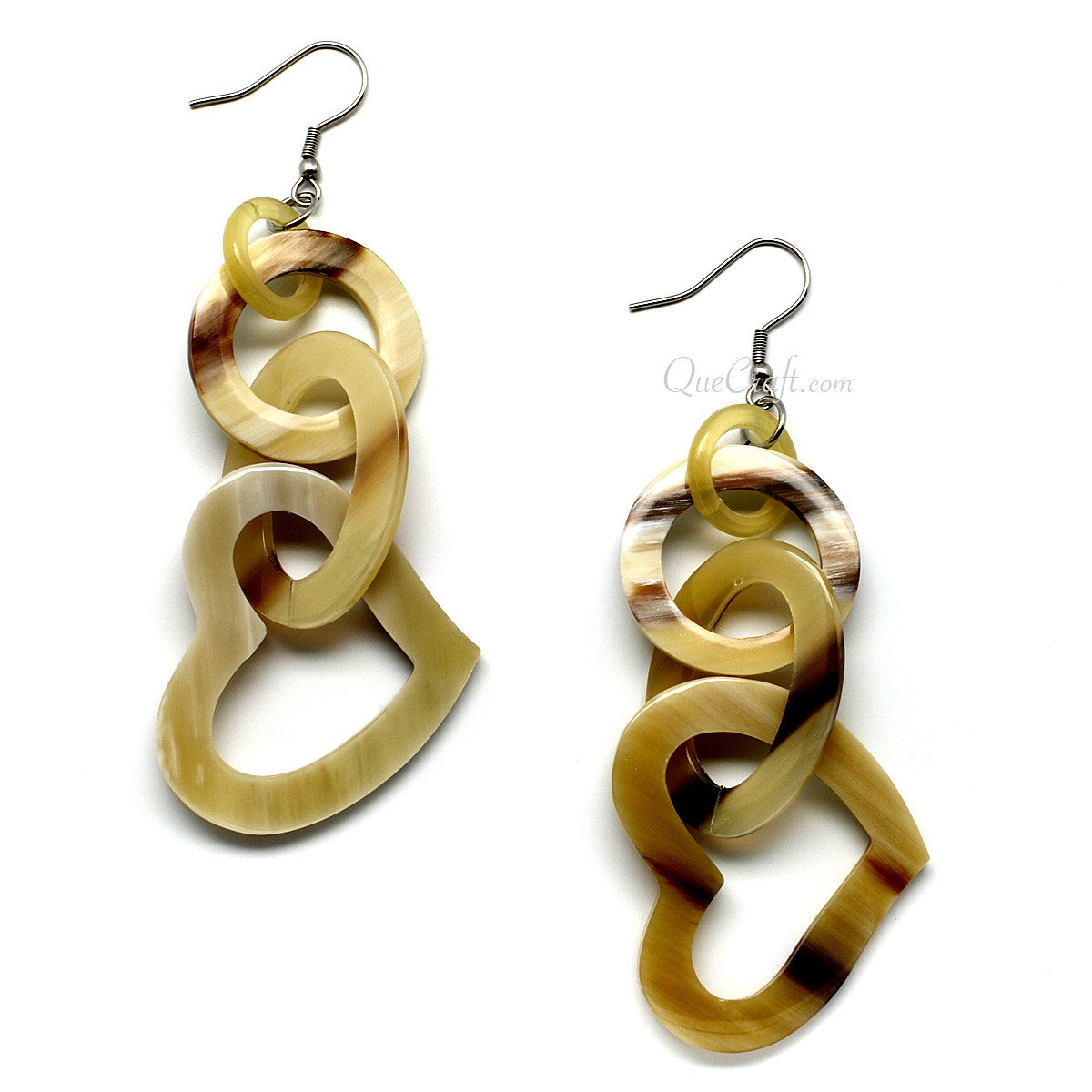 Horn Earrings #10003 - HORN.JEWELRY by QueCraft