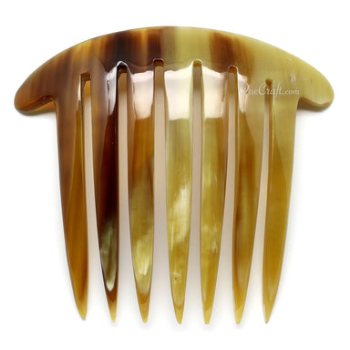 Horn Hair Comb #11043 - HORN.JEWELRY