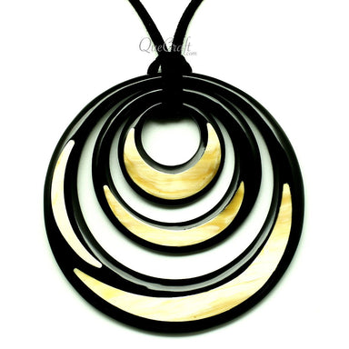 Horn Pendant #12884 - HORN.JEWELRY