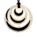 Horn Pendant #14228 - HORN.JEWELRY by QueCraft