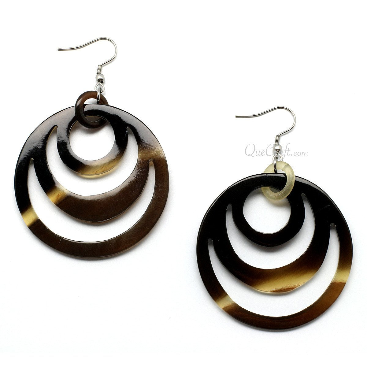 Horn Earrings #10034 - HORN.JEWELRY