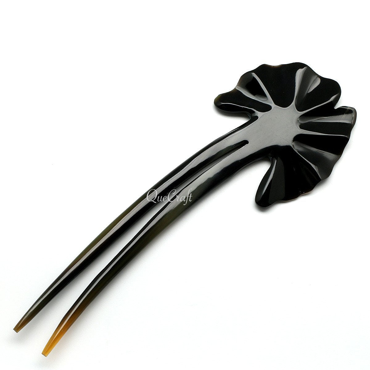 Horn Hair Pin #10533 - HORN.JEWELRY