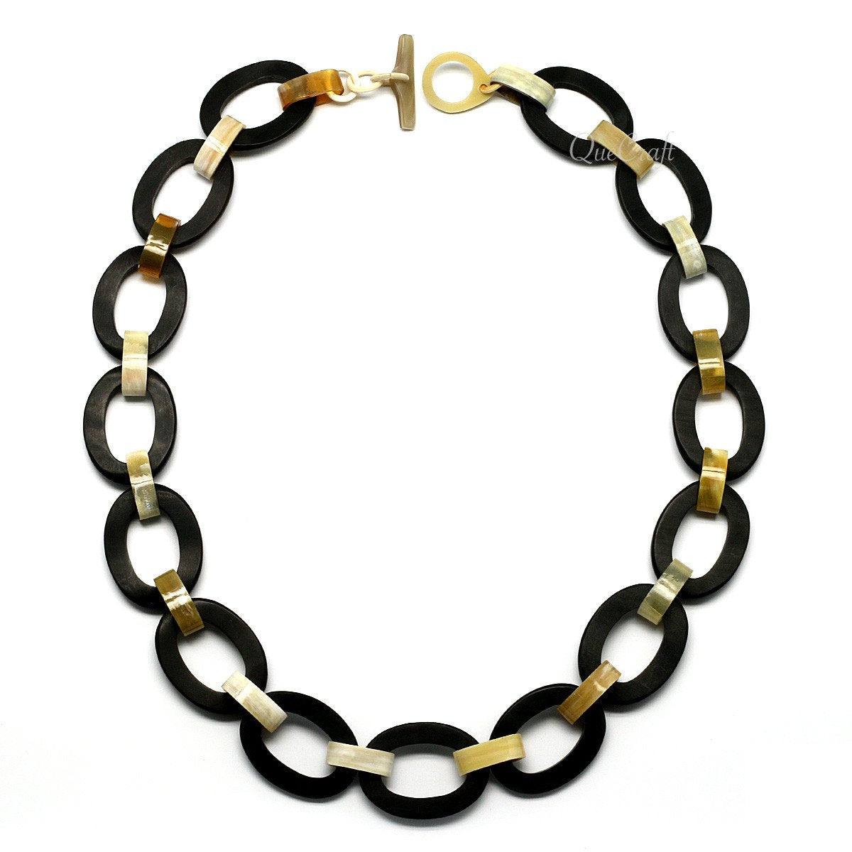 Horn Chain Necklace #10862 - HORN.JEWELRY