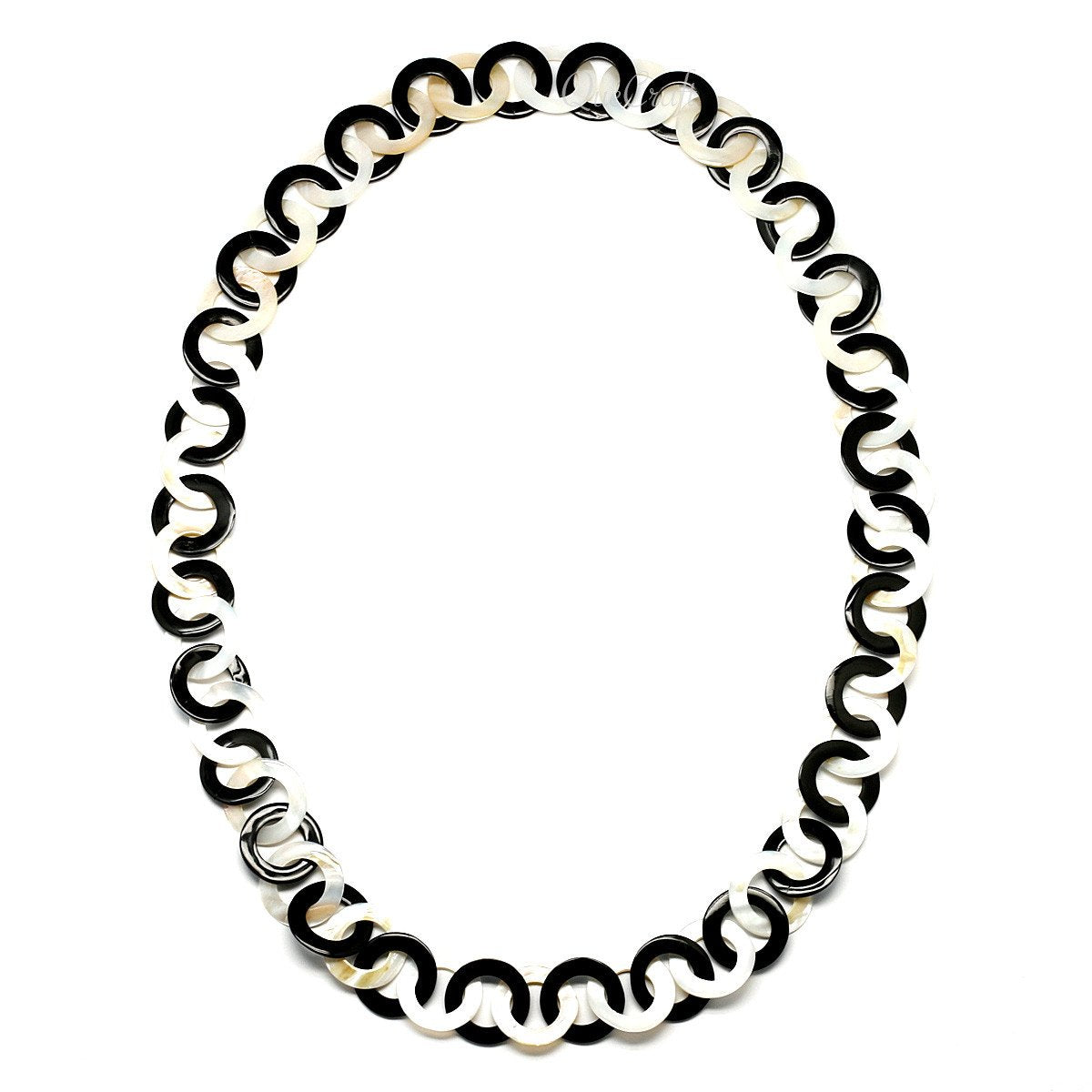Horn & Shell Necklace #9684 - HORN.JEWELRY