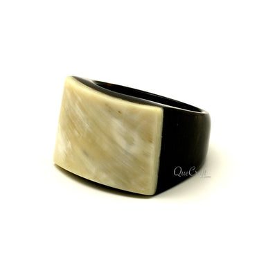 Horn Ring #12291 - HORN.JEWELRY by QueCraft