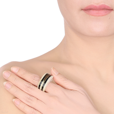 Horn Ring #13860 - HORN.JEWELRY