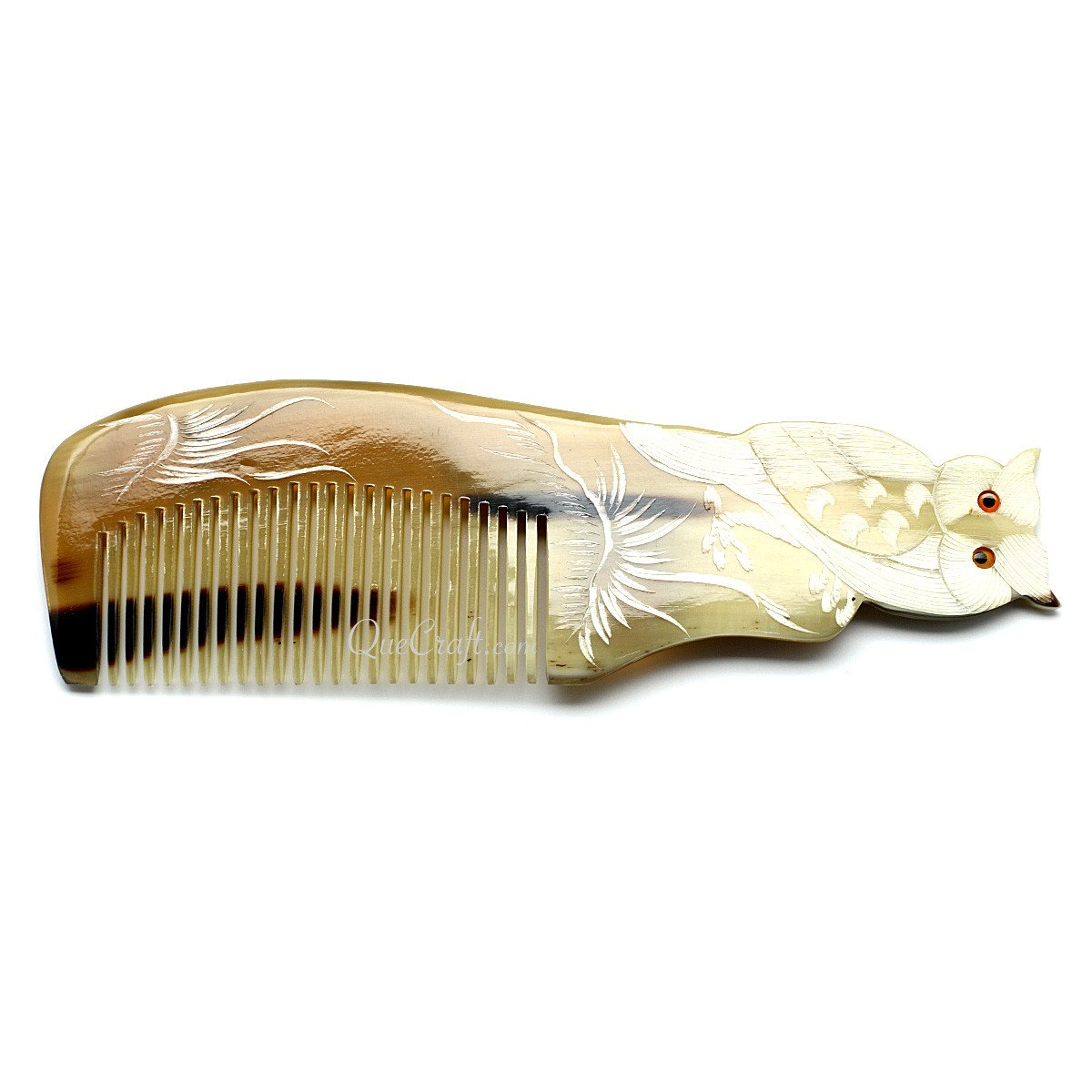 Horn Hair Comb #10678 - HORN.JEWELRY