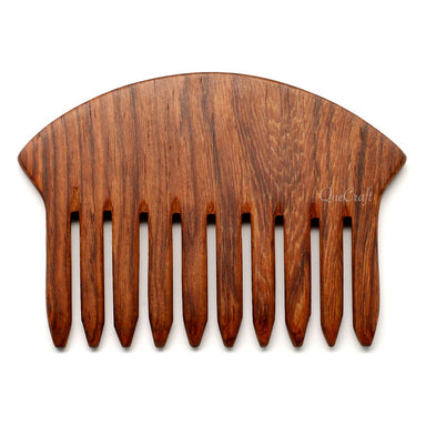 Rosewood Hair Comb #5596 - HORN.JEWELRY