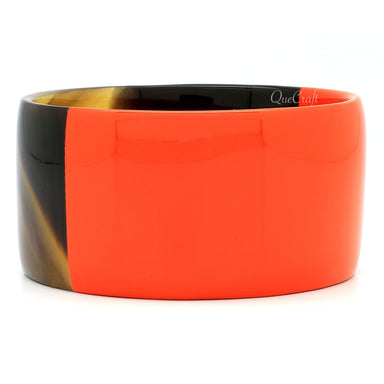 Horn & Lacquer Bangle Bracelet #7748 - HORN.JEWELRY