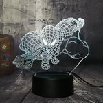 3D Spiderman LED 7 Color Change Night Light - Shop Better Health