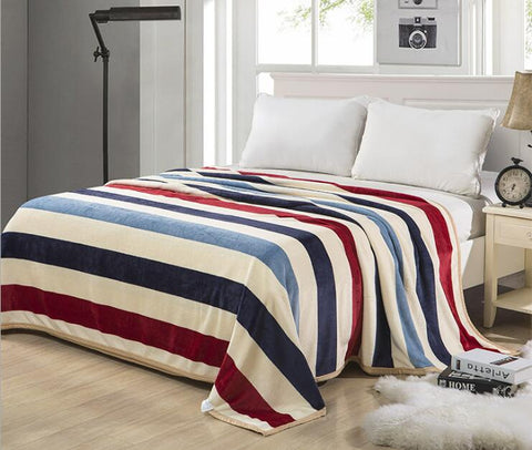 Fleece Comforter Assorted Colors