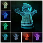 3D Assorted Christmas Series LED 7 Color Change Night Light - Shop Better Health