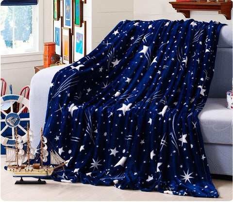Bright Star Soft Flannel Blanket