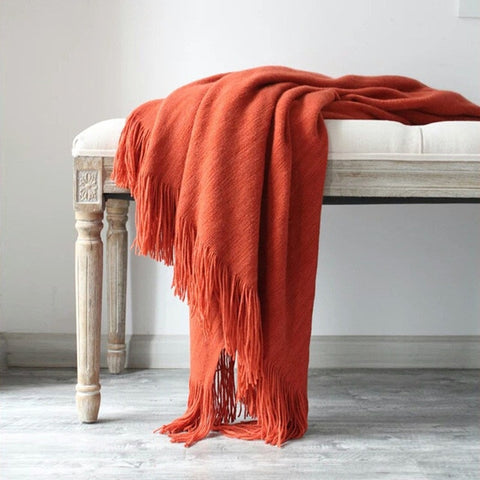 Super Soft Cashmere Blanket Assorted Colors
