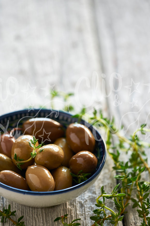 Little Green Olives with Thyme