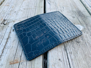 Alligator Card Wallet