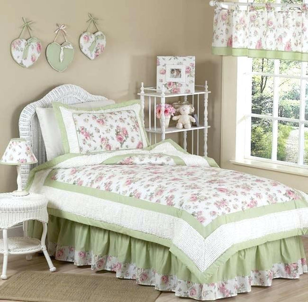 Foxy Shabby Chic Queen Bed