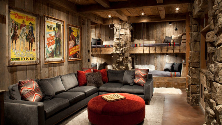 What You Need to Create a Solid Rustic Living Room
